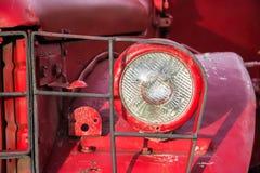 Headlight of old car Stock Photo