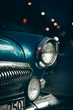 Headlight of old car Stock Images