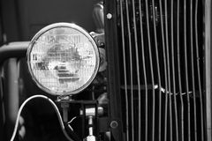 Headlight on Old Model T Royalty Free Stock Image