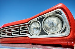 Headlight of a oldtimer Royalty Free Stock Photography