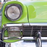 Headlight of oldtimer. Havana, Cuba Royalty Free Stock Photo