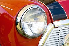 Headlight red mini II Stock Photography