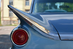 Headlight of retro sports car Royalty Free Stock Photo