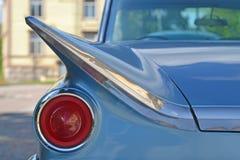 Headlight of retro sports car Stock Photo