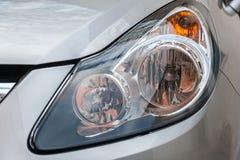 Headlight of a sport car Royalty Free Stock Photos