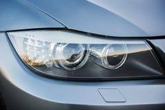 Headlight of a sportive premium car Stock Image