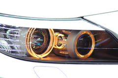 Headlight  Sports Car Royalty Free Stock Image