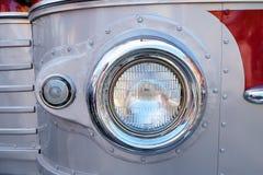 Headlight vintage bus Stock Photos