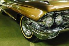 Headlight of a vintage car Stock Photo