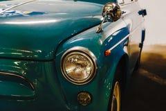 Headlight of a vintage car Royalty Free Stock Photos