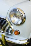 Headlight whitemini Royalty Free Stock Photos