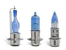 Headlight Xenon Lamp. Vehicles Electrical Components - Xenon Ligh Bulbs stock photos