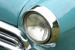 Headlights. Of a nostalgic vintage cars royalty free stock photos