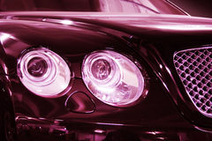 Headlights Stock Photo
