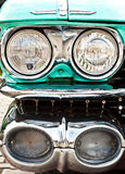 Headlights of a Cadilac Royalty Free Stock Images