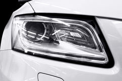 Headlights of car. Royalty Free Stock Image
