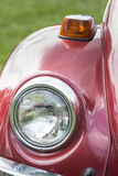 Headlights on a Classic Retro Vehicle Royalty Free Stock Image