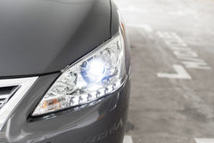Headlights. With high intensity discharge Stock Images