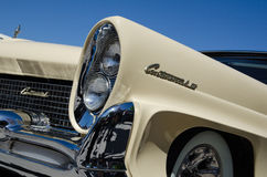 Headlights of a Lincoln Continental old timer Royalty Free Stock Images