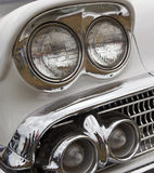 Headlights of Lowrider Stock Photos