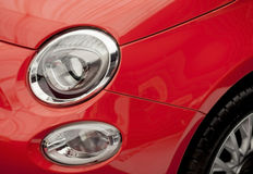 Headlights- new car detail Royalty Free Stock Images