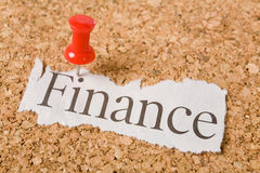 Headline finance Stock Images