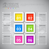 Headline Infographic Design Business Data Graphic Collection Over World Map Presentation Copy Space Royalty Free Stock Photography