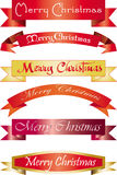 Headline Merry Christmas Royalty Free Stock Photography