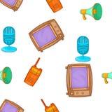 Headline pattern, cartoon style. Headline pattern. Cartoon illustration of headline vector pattern for web Royalty Free Stock Photo