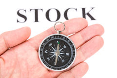 Headline stock and Compass Stock Images