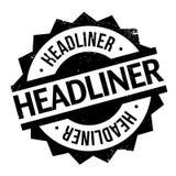 Headliner rubber stamp Stock Image