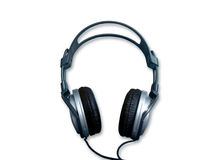 Headphone. Isolated headphone on a white background Stock Images