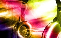 headphone Royaltyfria Foton
