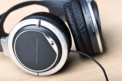 Headphone background Royalty Free Stock Photo