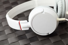 Headphone. Close up and macro Stock Images