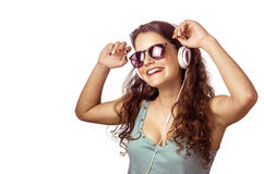 Headphone Dancer II Royalty Free Stock Images