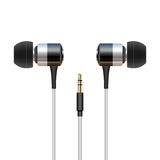 Headphone ear buds Stock Photo