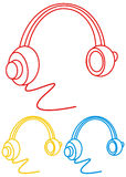 Headphone icon Royalty Free Stock Image