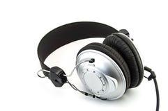 Headphone isolated on white Royalty Free Stock Photos