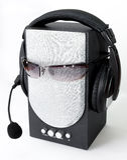 Headphone and loudspeaker Royalty Free Stock Photos