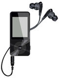 Headphone player Royalty Free Stock Photos
