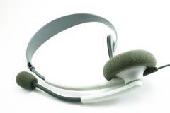 Headphone set. Isolated on white Stock Photo