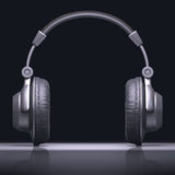 Headphone Text Center Stock Images