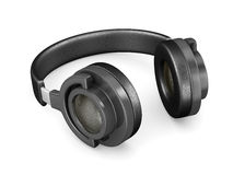 Headphone on white background Royalty Free Stock Images