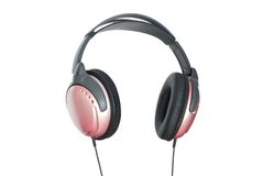Headphones. Royalty Free Stock Photo