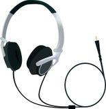 Headphones. On a white background,  illustration Royalty Free Stock Photos