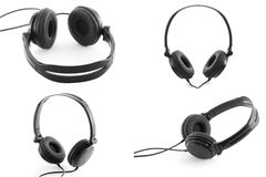 Headphones Stock Photography