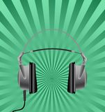 Headphones. Royalty Free Stock Photos