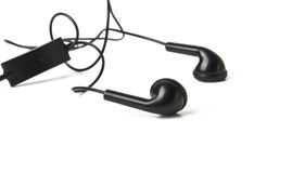 Headphones. On a white background Royalty Free Stock Photos