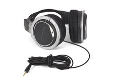 Headphones. Stereo headphones on a white background